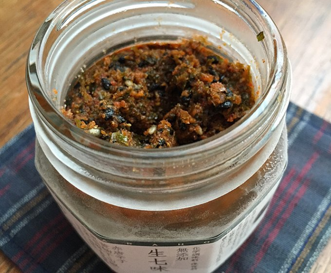 風味豊かなこだわりの生七味、日本が誇るべき素晴らしい調味料