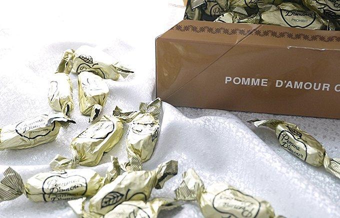 ずっと受け継がれていく神戸元町の人気のチョコレート、一番館のポーム・ダムール