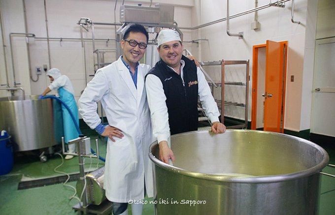 今、Made by Italianのチーズが新しい『ファットリア・ビオ北海道』
