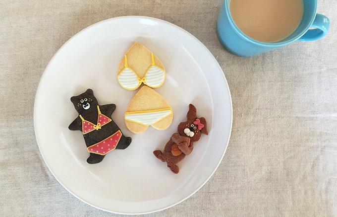 レア度120%!女子ギフトにおすすめのアートなアイシングクッキー