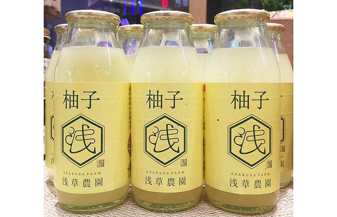 埼玉県生まれ。日本最古の柚子がジュースに!