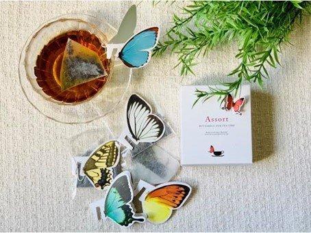ティーカップに蝶が舞い降りてきた!?HANASAKAの「バタフライティー」