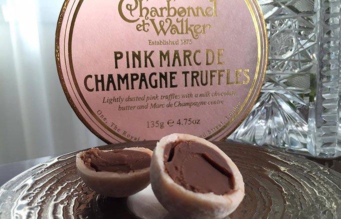 英国紳士の秘かな愉しみ!王室御用達の香り豊かなピンクの「トリュフ」