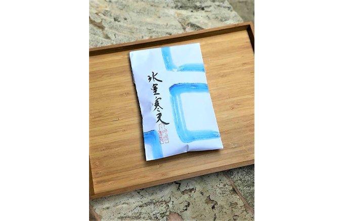 夏の終わりにおすすめの和菓子。季節限定『叶匠壽庵』の「氷室寒天」