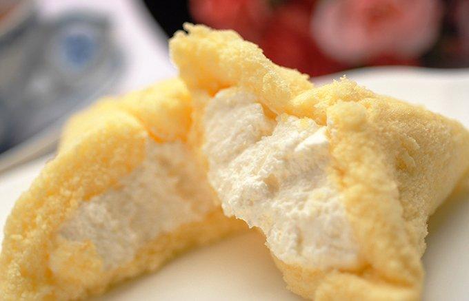 愛知県豊橋市 ボンとらやの地元で人気の1日3,000個売れている「ピレーネ」