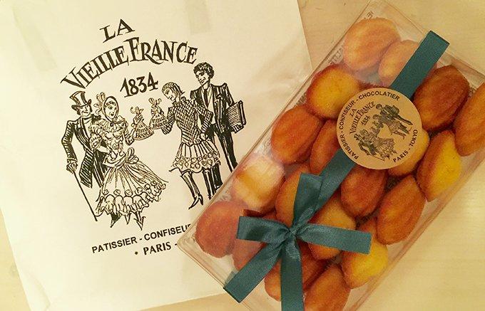 パリで修行したパティシエが作る「ラ・ヴィエイユ・フランス」のプチマドレーヌ