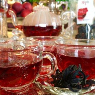 赤い宝石TEA!ハイビスカスのお茶「ロセラティ」
