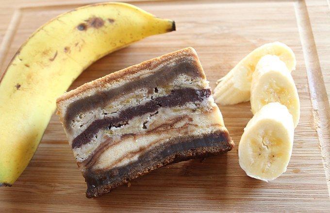 ふんわりただよう甘い香り!濃密な甘さに酔いしれるバナナのケーキ