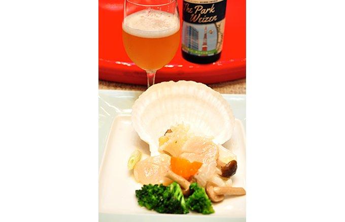 タイム、セージ、ローズマリーを使った白ビール「The Park Weizen」