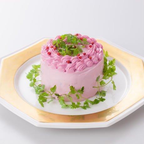 サプライズなケーキ!?食べてキレイになる、野菜たっぷり「ベジデコサラダ(R)」