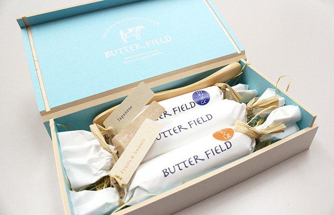 バター好きを虜にする。豊富なフレーバーの道産バター「Butter Field」