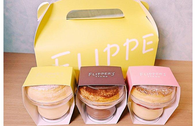 プリンとパンケーキが合体!手土産の新しい人気商品はインパクト大