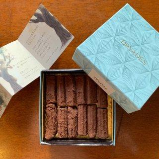お酒好きな方に大人のチョコレートを。『DRYADES』の薪のトリュフ ウィスキー