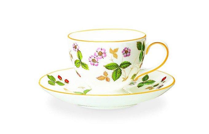 紅茶もコーヒーも両方楽しみたい方に是非!ウェッジウッドの「リーシェイプ」