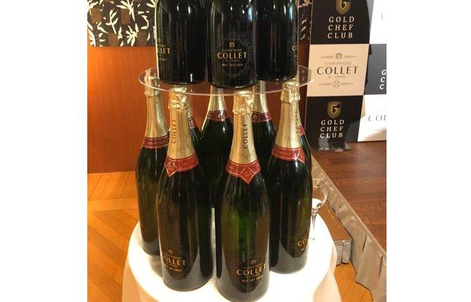 国際ワインコンクールで金賞も!!フランス特級畑のシャンパーニュ「Collet」