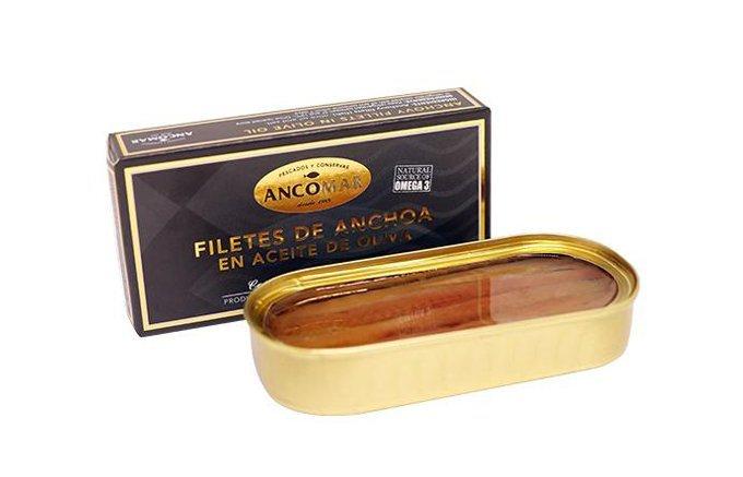見た目は正絹、味は海の生ハム!スペイン産の極上アンチョビ『アンコマール』