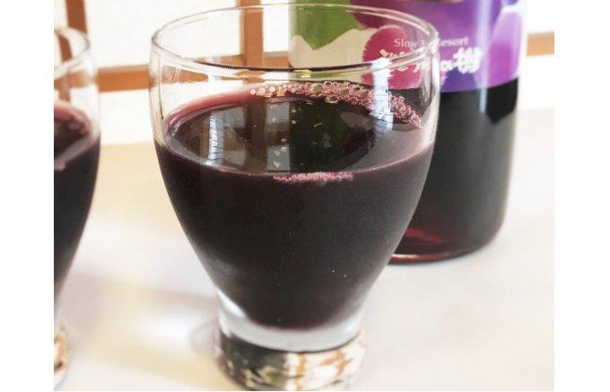 レストランが作ったぶどうジュース「果汁100%ぶどう果汁」