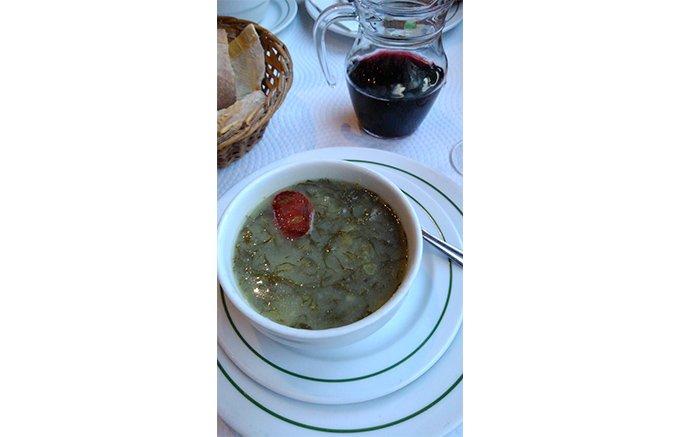 ポルトガルの「お母さんの味」、ソパ