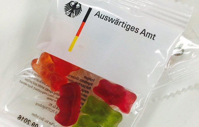 ドイツ外務省専用のグミまである!クマのグミで有名なドイツのハリボー