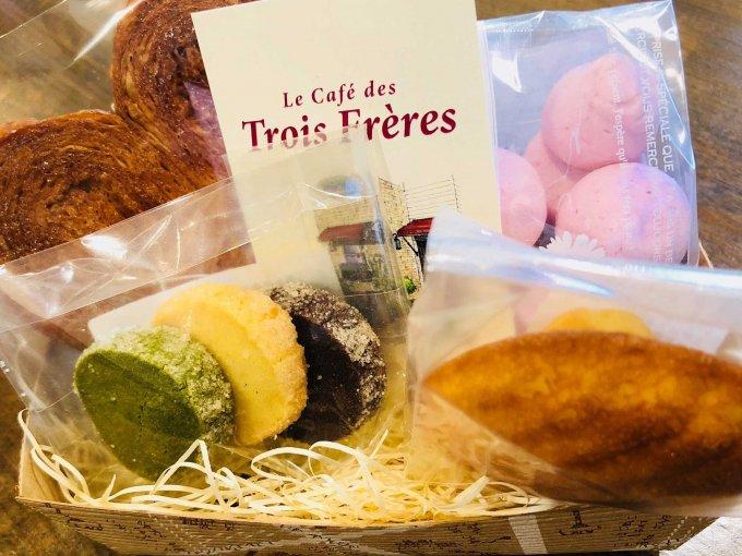 丁寧な仕事が味わいに繋がる『ル カフェ デ トロワフレール』の焼き菓子バスケット