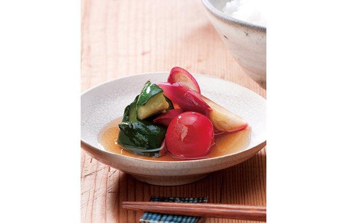 夏野菜をとことん楽しむ!パリパリさっぱり野菜をいただく茅乃舎「和風ピクルスの素」