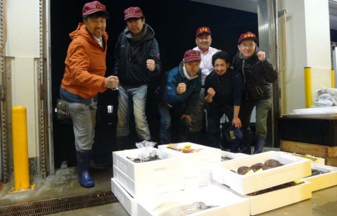 佐賀県唐津市、大山鮮魚店の放血神経絞め「桜鯛」