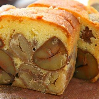 栗好きにはたまらないゴロゴロ栗のケーキ