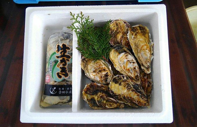 播州室津港のサイズも大きく旨味も詰まった牡蠣