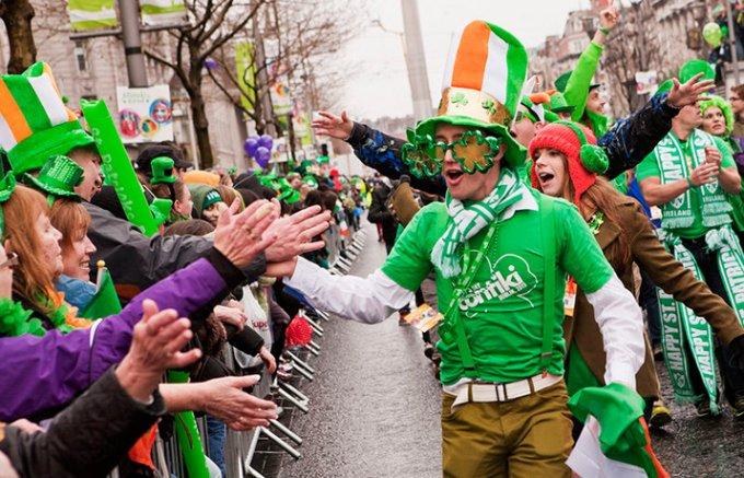 緑の国アイルランド最大のお祭り「セント・パトリックス・デー」が