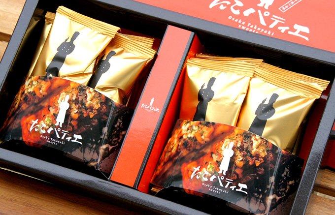 大阪発!パティシエが監修の、たこ焼きとパイのコラボ「たこパティエ」