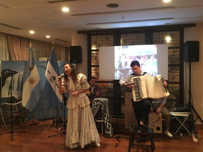 アルゼンチン伝統音楽「チャマメ」と本格「マテ茶」を楽しむ夕べ