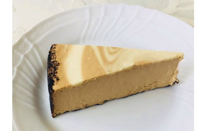 冷凍庫に常備したい!食べたい時に食べられるカプチーノ風味のチーズケーキ