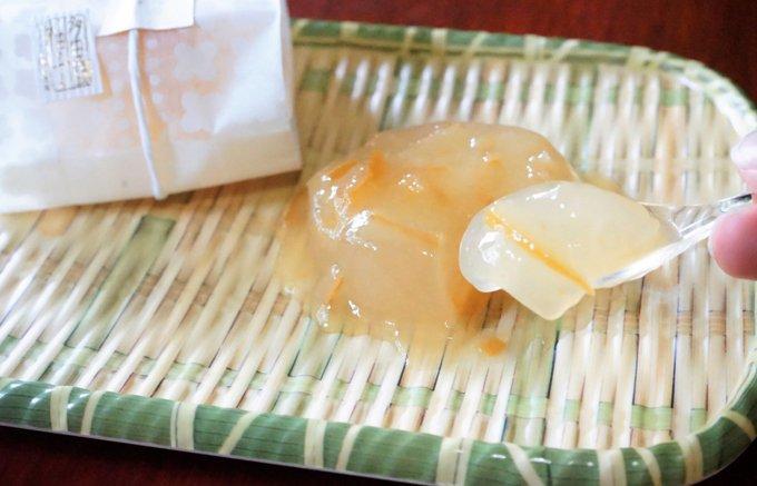 夏季限定!希少な多田錦ゆずを使った爽やか涼菓『中島大祥堂』の「ゆず流し」