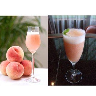 盛夏にフローズンで楽しむ桃の食前酒ベリーニ