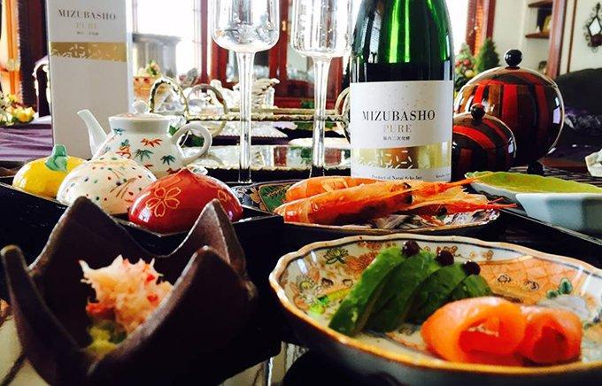 世界発!シャンパーニュ製法で作られた発泡日本酒「MIZUBASHO PURE」