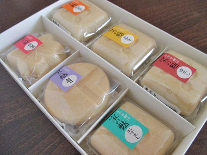 美味しくて身体が温まる加賀麩の味噌汁とお吸い物