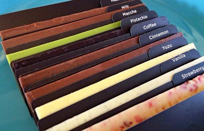 フレーバーを一度に何種類も楽しめる!アンダーズ東京のオリジナルチョコレート