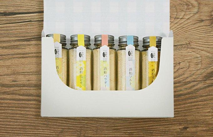 ひとふりで発酵食を手軽に取り入れられる!『FARM8』の「酒粕ソルト」