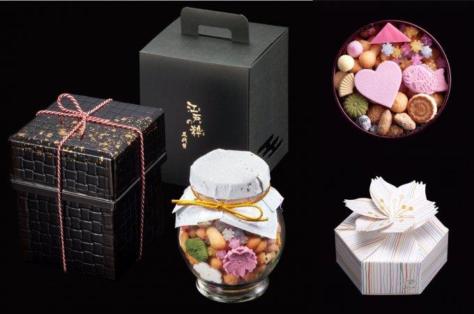 30種類以上ものお菓子がぎゅっ!とつまった江戸の粋を感じる「冨貴寄」