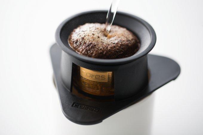 コーヒーオイルに注目!個性的な1杯に「cores(コレス)」のゴールドフィルター