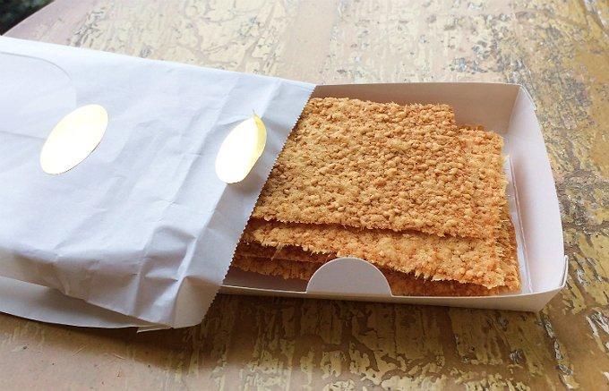 チーズの香ばしさがたっぷり!1日限定11袋限定ホテル椿山荘東京のチーズチップス