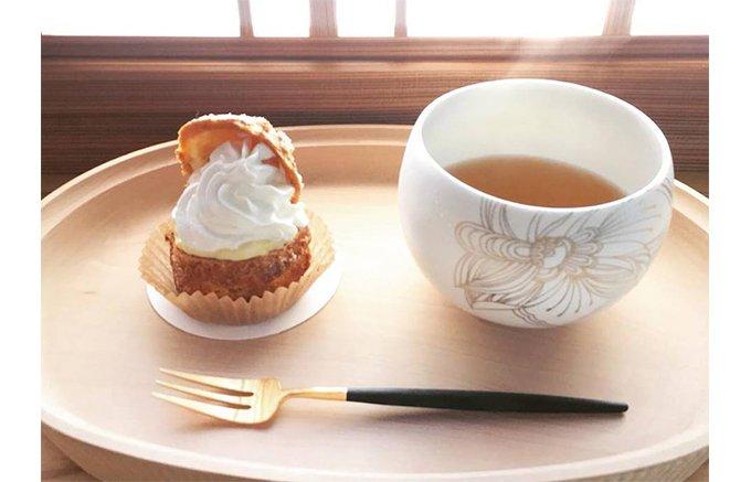生クリームとカスタードのバランスが絶妙!京都の隠れ家で見つけた絶品シュークリーム
