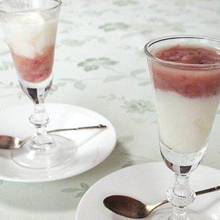 甘酒×ヨーグルトで食べる点滴、夏のパーティーにおすすめ!