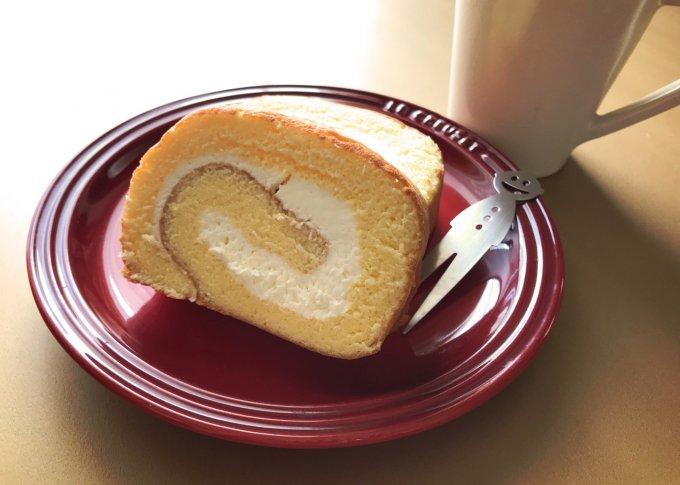 濃厚で軽い!ジャージー牛乳で作ったロールケーキ。