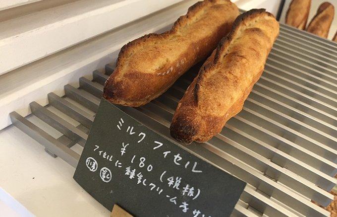 外はカリカリ! 中は濃厚なミルククリーム。意外な場所で出会った最高のスイーツパン