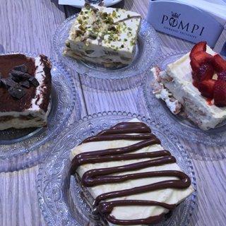 イタリアで一番おいしいティラミスといえば間違いなく「POMPI」
