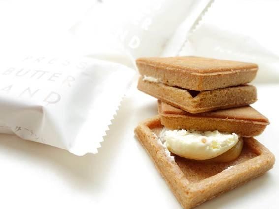 バター好き必食!バターサンド専門店プレスバターサンドの「バターサンド」