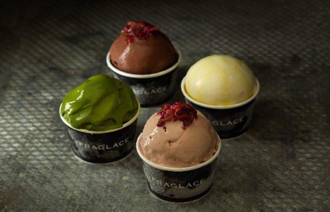 """究極にエレガントな""""香るアイスクリーム""""を母の日に。"""