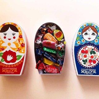 新潟からマトリョーシカがやってきた!『マツヤ』のロシアンチョコレート