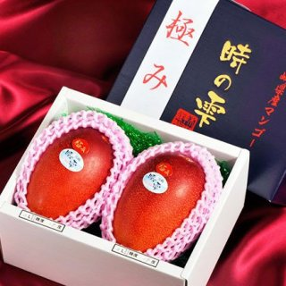 甘みや酸味、香りのバランスがとても良い、宮崎県産の『時の雫マンゴー』